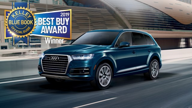 The 2019 Audi Q5 and Q7 Earn Kelley Blue Book Best Buy Awards