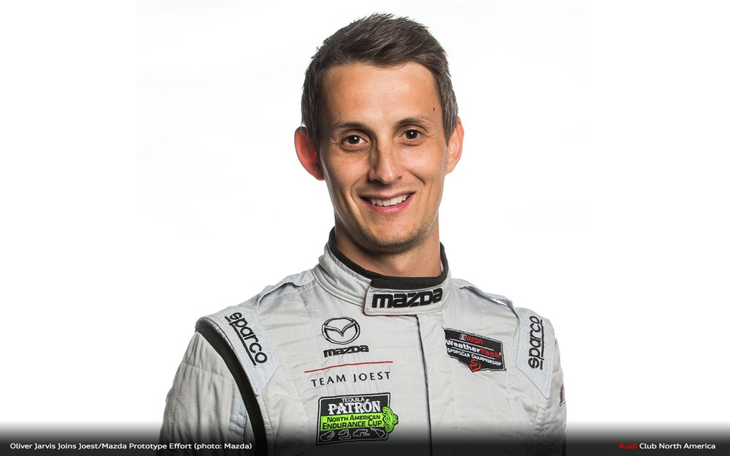 Oliver Jarvis Joins Team Joest Mazda for Rolex 24