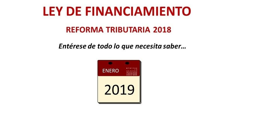 Ley de Financiamiento para este 2019