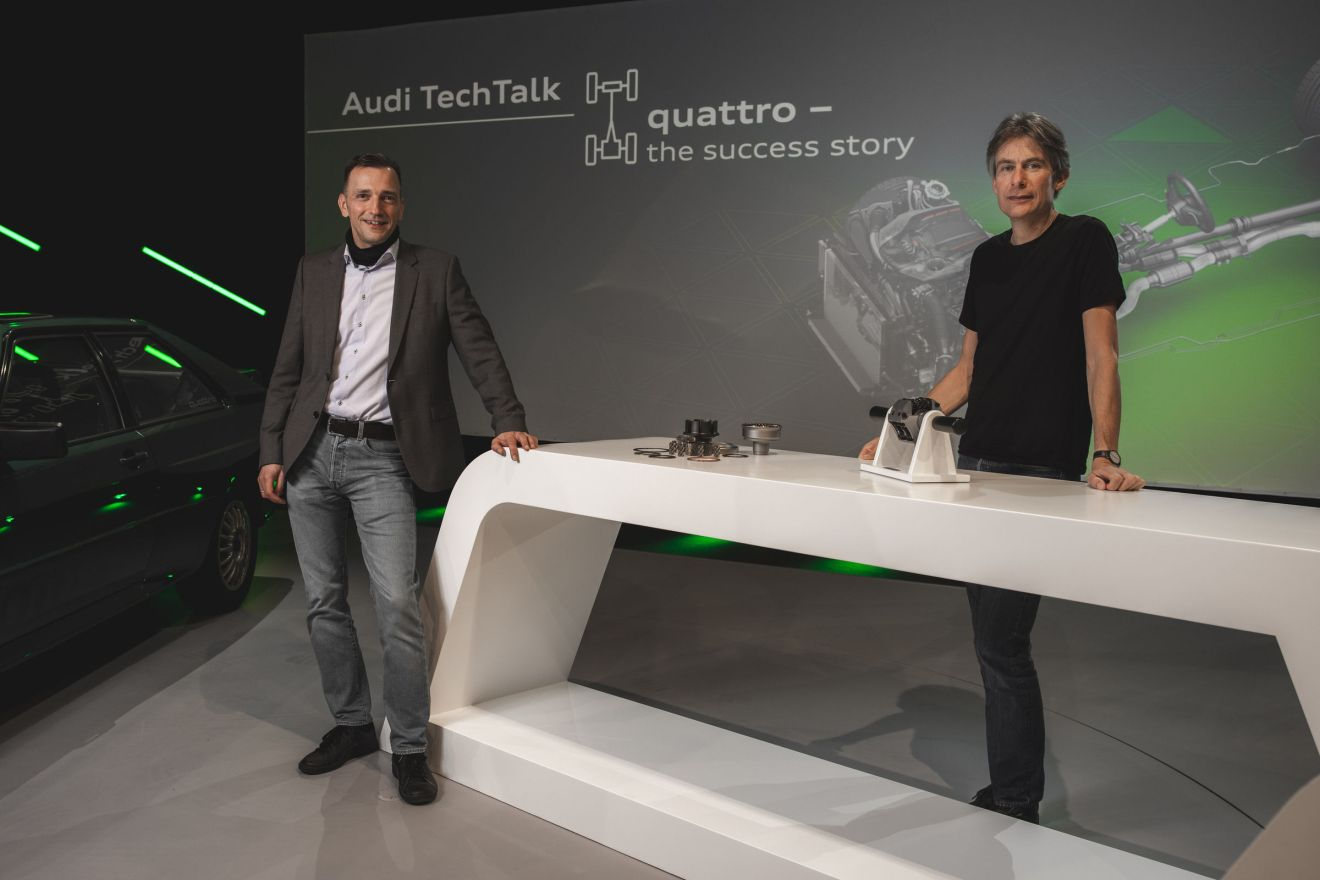 TechTalk quattro – the winning technology