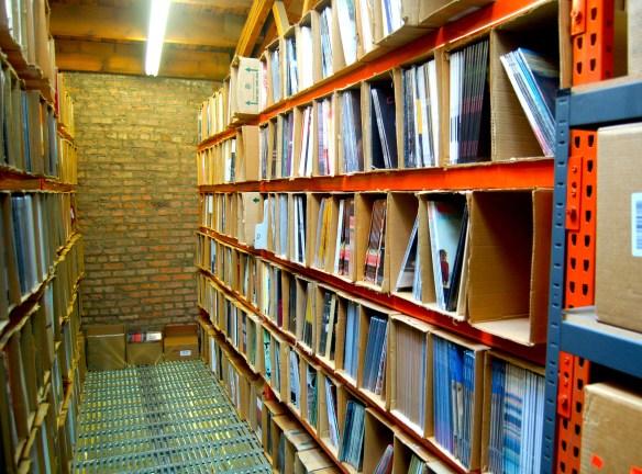 Giant Record Vinyl Crates
