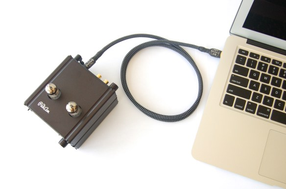 ALO Pan Am Headphone Amplifier and USB DAC with computer