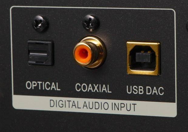 Oppo BDP-105 Back Panel Digital Inputs