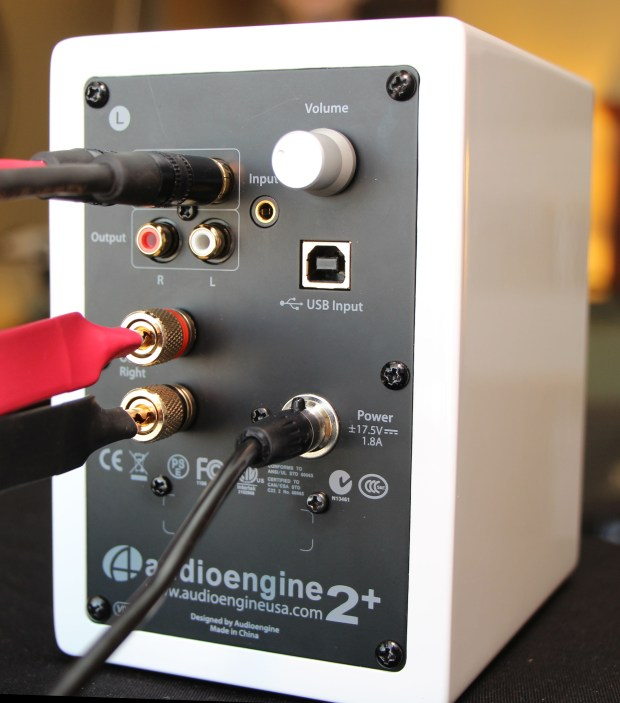AudioEngine A2+ Back
