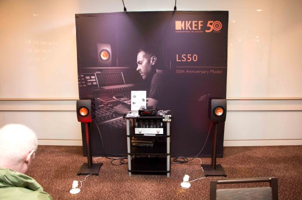 KEF LS50 at AXPONA 2014