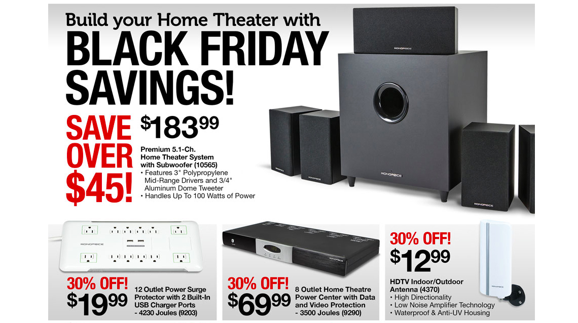 An Audiophile's Black Friday Guide - 2014