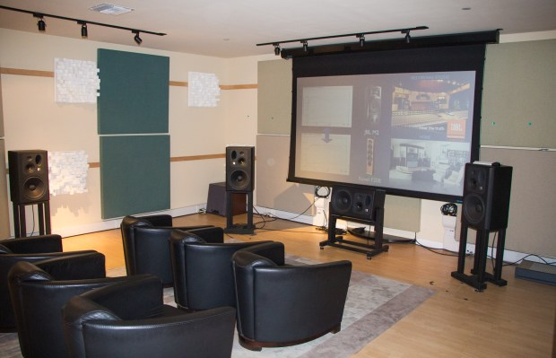 Harmen Reference Listening Room