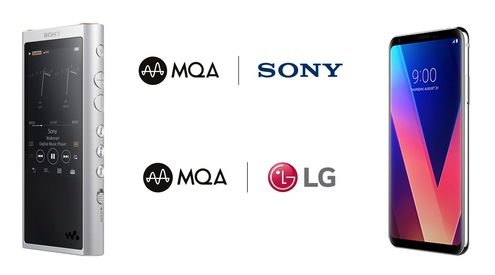MQA Goes Portable With Sony and LG