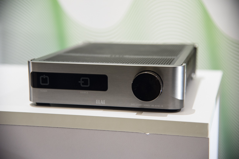 The new DS A101 G Discovery amplifier from Elac.
