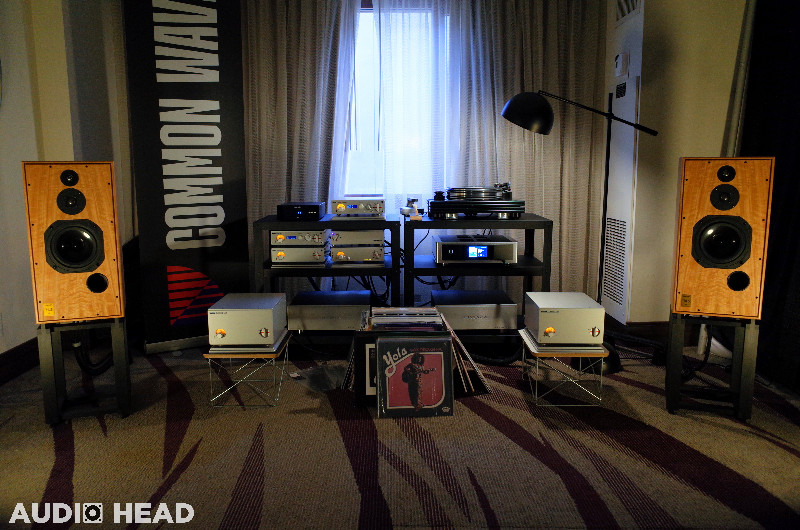 Common Wave Hi-Fi, Harbeth, Nagra, Pear Audio Blue, Shunyata Research, NAD, TonTräger at T.H.E. SHOW 2019