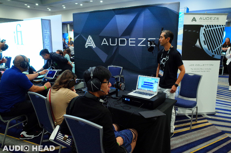 Audeze at CanJam SoCal 2019.
