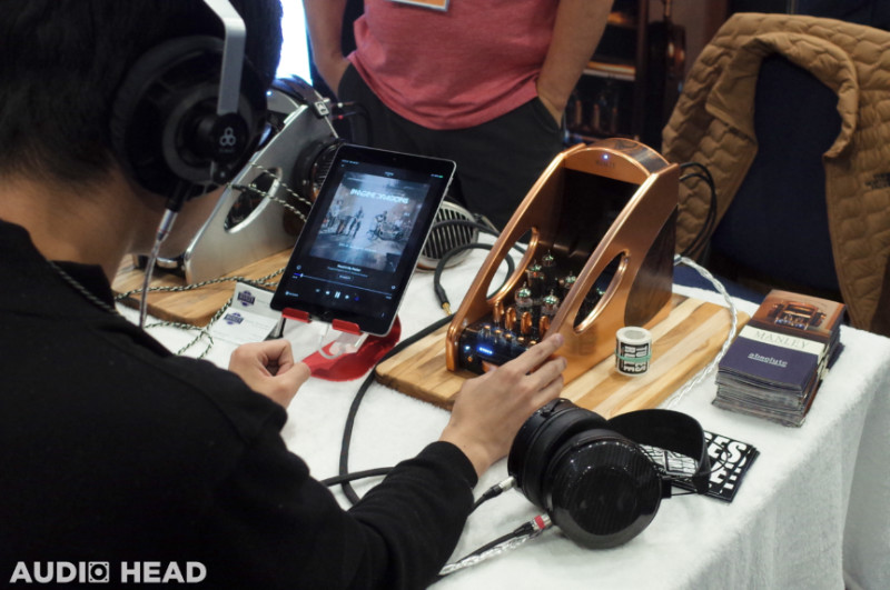 Manley Labs Absolute Headphone Amplifier at CanJam SoCal 2019.