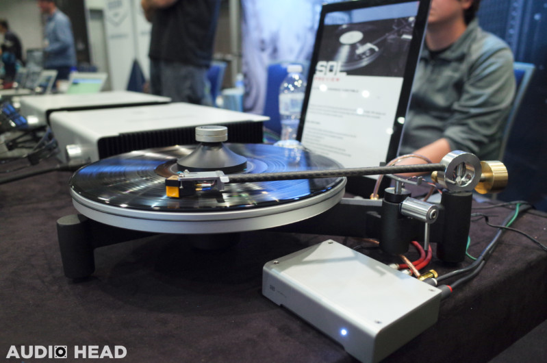 Schiit Sol Turntable from CanJam Socal 2019