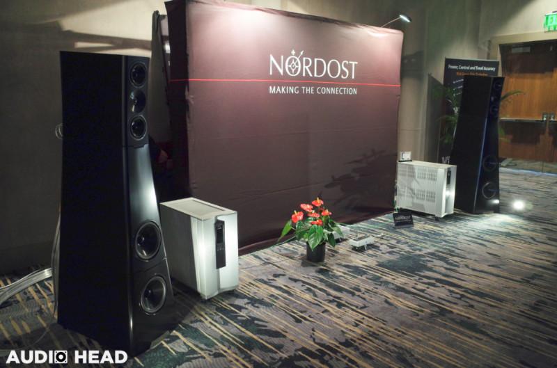 Nordost, VTL, YG Acoustics, VPI Industries at RMAF 2019.