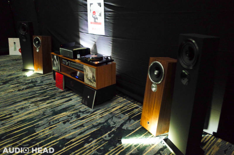 Zu Audio Druid 6 and Omen Dirty Weekend and Submission 6 at RMAF 2019.