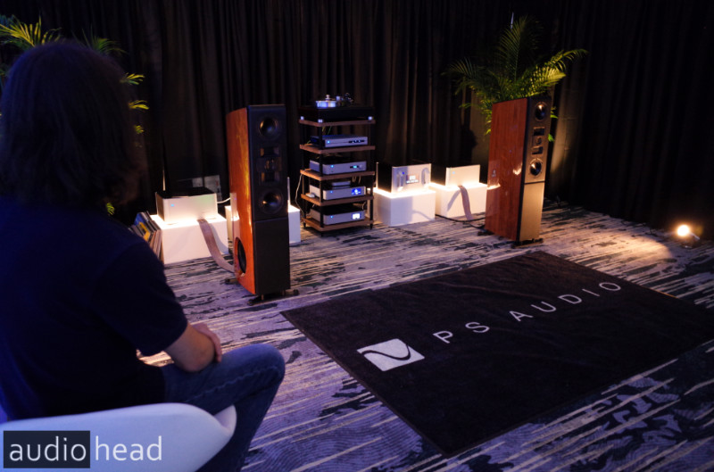 PS Audio and the AN3 loudspeaker from RMAF 2019.