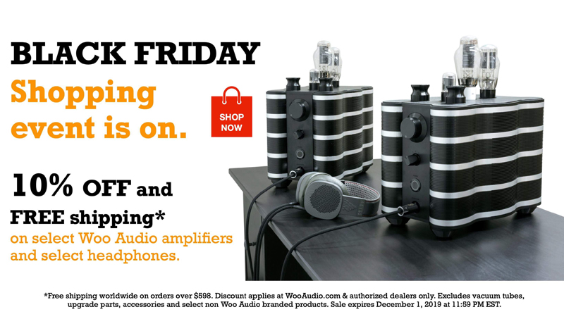 Audio gear on sale for Black Friday.