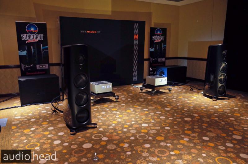 Suncoast Audio hosts Magico M6, Luxman, Avid, Doshi Audio, Audioquest, Critical Mass at the Florida Audio Show.