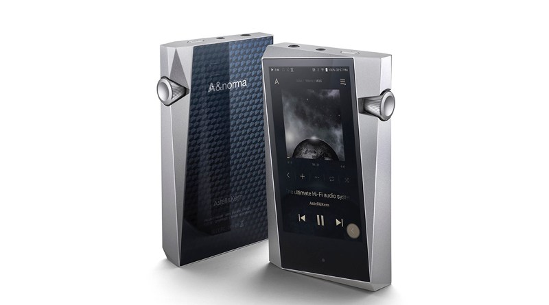 Astell and Kern A&norma SR25 digital audio player, DAP. Astell & Kern SR25.