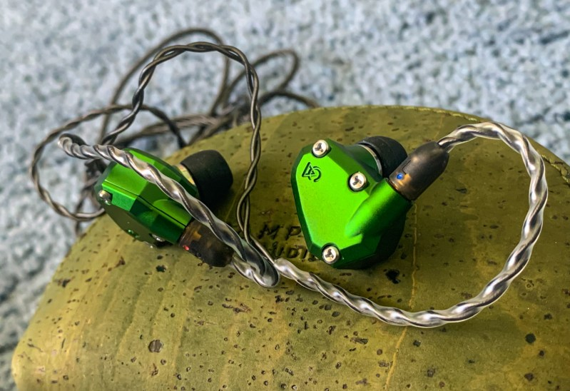 Side shot of the Andromeda 2020 by campfire audio.