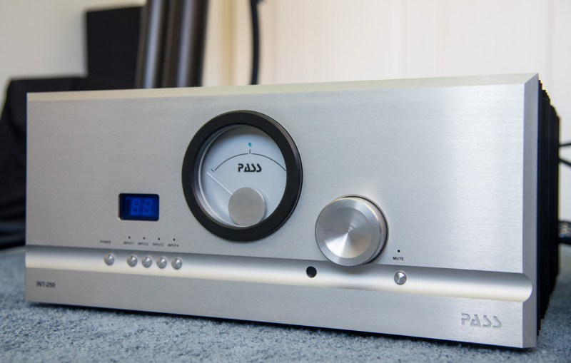 Front Panel of Pass INT 250.