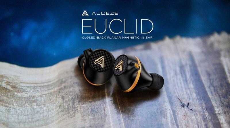 Audeze Euclid In-Ear Earphone. Planar Magnetic closed back IEM.