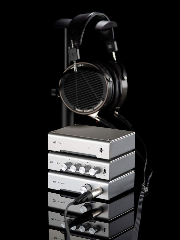 Schiit Stack with the Schiit Loki Mini+.