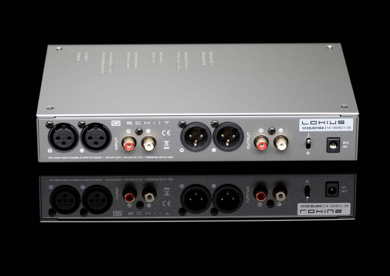 Schiit Audio Lokius EQ back with XLR connections