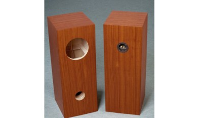 Speaker Box For Fostex Fe107E Fe103E Pair, Bass Reflex Type