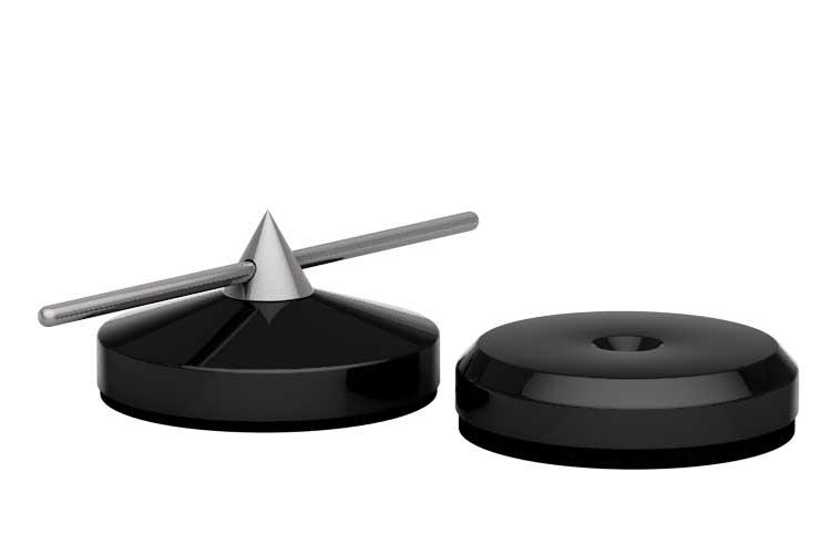 Spike Ø 30mm und Disk Ø 30mm schwarz