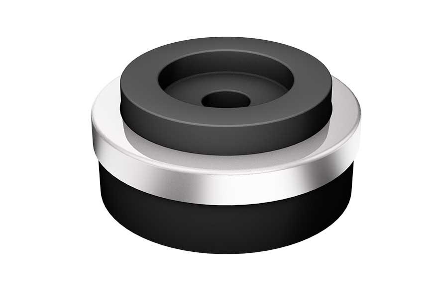 Dämpfer Ø 30mm silber