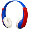 JVC HAKD9BTA Tiny Phones Kids Wireless Bluetooth Headphones - Blue/Red