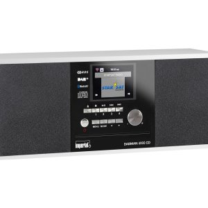 Imperial Dabman i200 CD Stereo DAB+ en Internetradio (Wit)