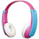JVC HAKD9BTP Tiny Phones Kids Wireless Bluetooth Headphones - Pink/Blue