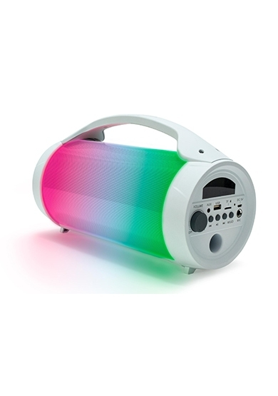 Bluetooth Speaker Party - Lite + Microphone - White