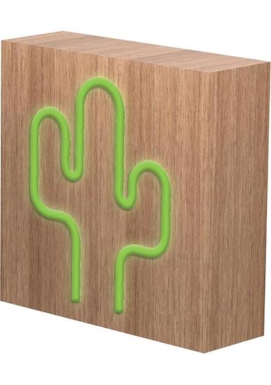 Speaker Neon Cactus Bluetooth/Induc/Light