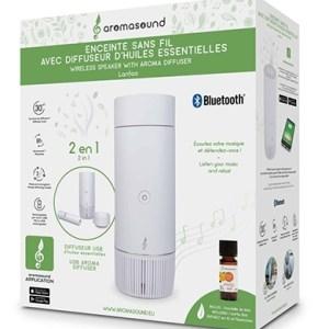 Aromasound Bluetooth Speaker + Nebia Diffuser - White - Accessoires (3499550380101)