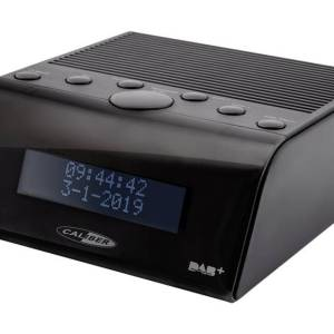 Caliber Audio Technology HCG011DAB Wekkerradio DAB+, FM Zwart