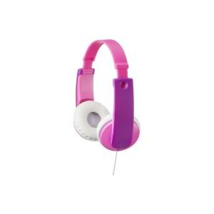 ![CDATA[HA-KD7-PNE JVC Kids TinyPhones Headphone Pink]]