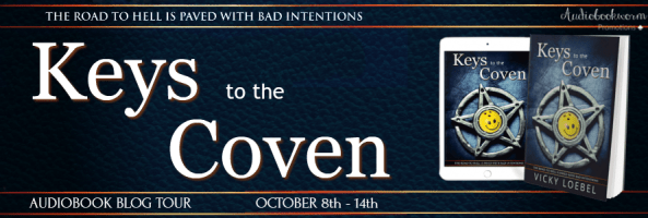 🎧 Blog Tour: Keys to the Coven by Vicky Loebel