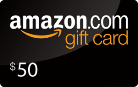 Prize: $50 Amazon Gift Card