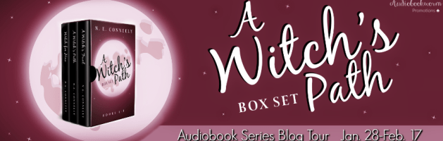 🎧 Audio Series Blog Tour: A Witch's Path by N.E. Conneely