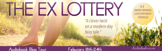 🎧 Audio Blog Tour: The Ex Lottery by Kim Sanders