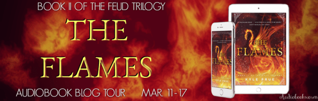 🎧 Audio Blog Tour: The Flames by Kyle Prue
