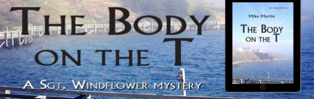 🎧 Audio Blog Tour: The Body on the T by Mike Martin