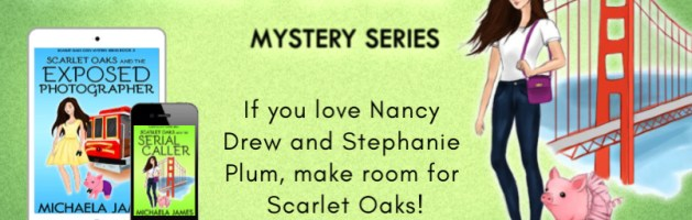 ⭐️ Audio Series Blog Tour: Scarlet Oaks Mystery Series by Michaela James