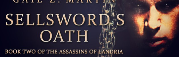 🎧 Audio Blog Tour: Sellsword's Oath by Gail Z. Martin