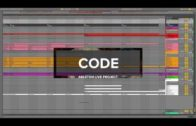 Code Dark Techno Ableton Live Template Project File