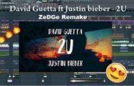 David Guetta ft Justin Bieber – 2U (FL Studio Remake) [Free FLP + Acapella]