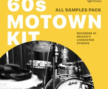 Sample Packs - DrumDrops 60s Motown Kit - All Samples Pack